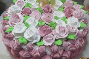 Корзинка с цветами (фото в альбоме №115)